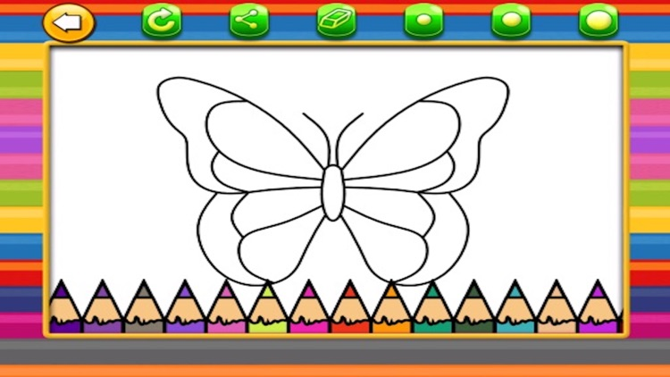Coloring Book For Kids And Toddlers screenshot-3