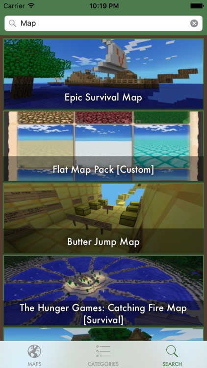 minemaps for minecraft pe best maps collection download free maps for pocket edition
