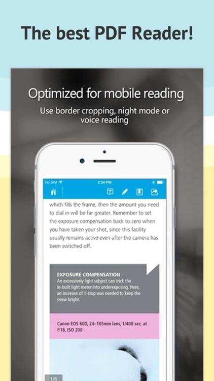PDF Reader-view screenshot-3