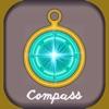 コンパス無料 - シンプル - iPhoneアプリ