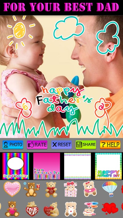 Father's Day Photo Frames HD screenshot-4
