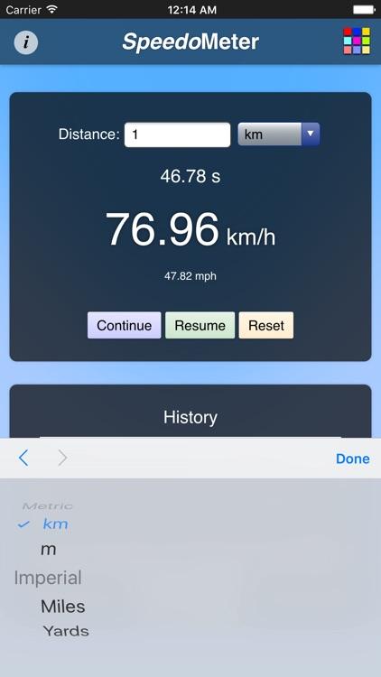 Speedometer App 2 screenshot-3
