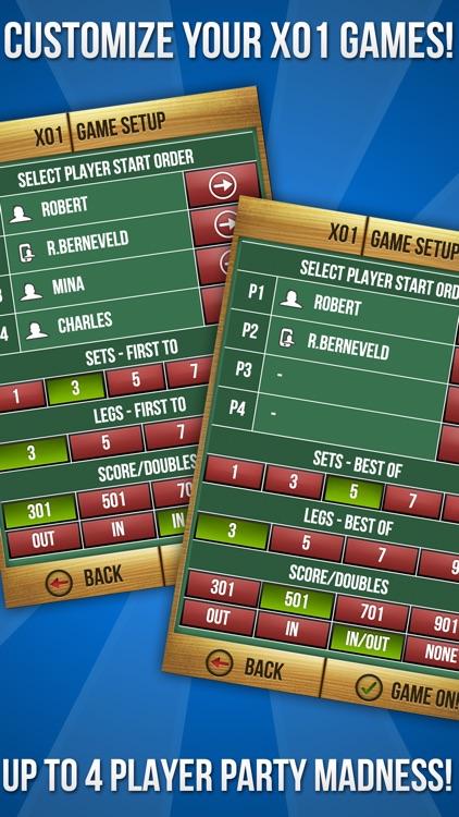 MadHouse Darts Scorer Darts Games Scoreboard & Scorekeeper 501 Scoring and More screenshot-4