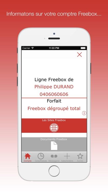 Mon compte Freebox :  votre compagnon pour le suivi conso & messagerie free screenshot-4