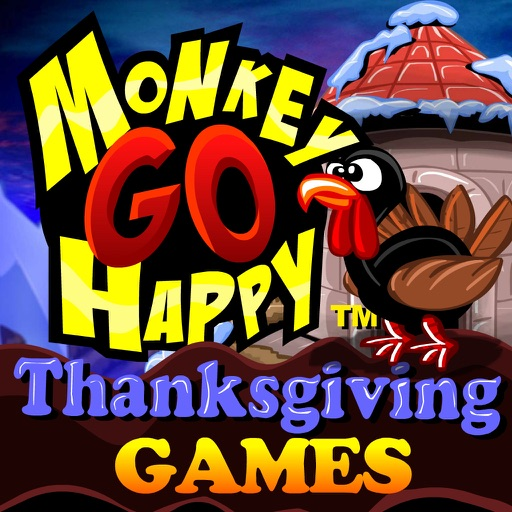 Monkey GO Happy Thanksgiving Games