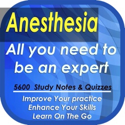 Anesthesia Encyclopedia: 5600 terms, study notes, cases & quizzes
