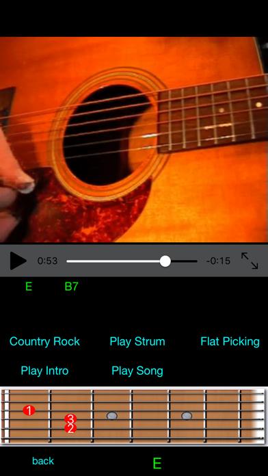 Guitar Lessons Pro screenshot one