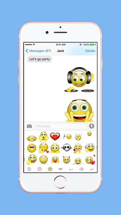 Animated Smiley Keyboard Pro