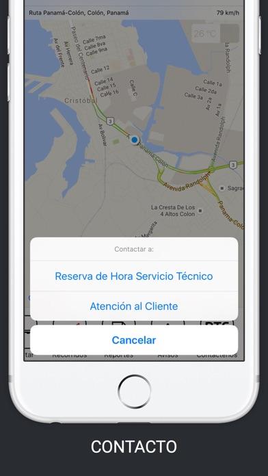 Teks GPSCaptura de pantalla de3
