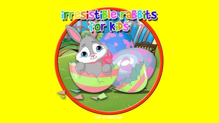 irresistible rabbits for kids - no ads screenshot-0
