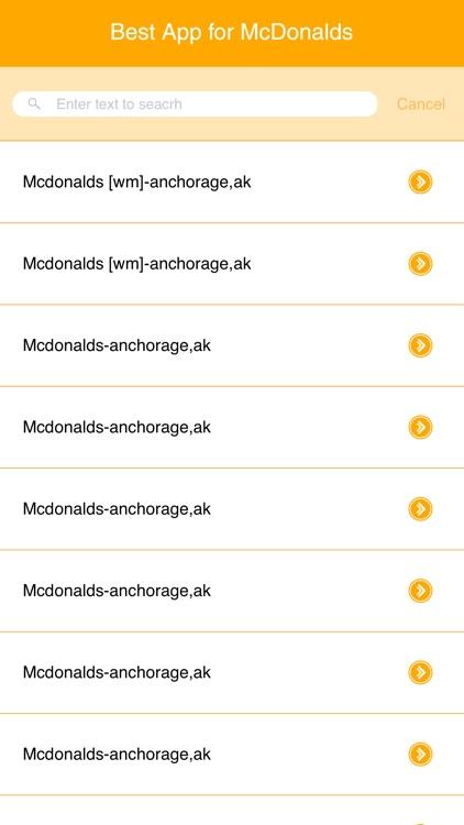 Best App for McDonalds