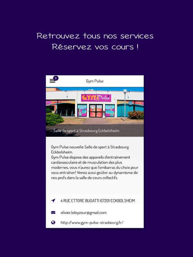 Gym Pulse Strasbourg On The App Store