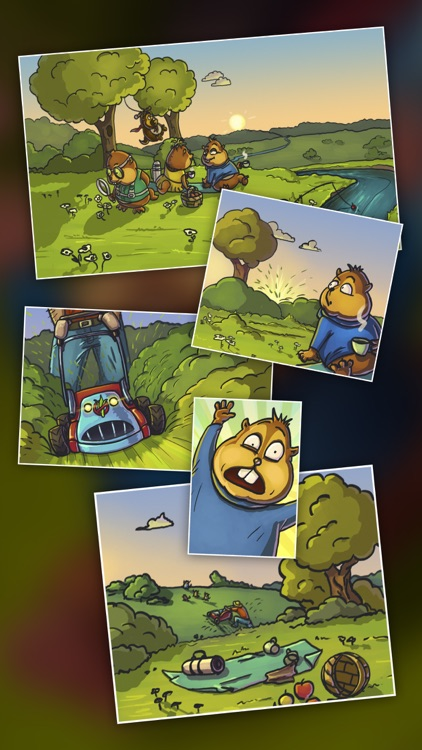 Chipmunks' Trouble — funny puzzle screenshot-3