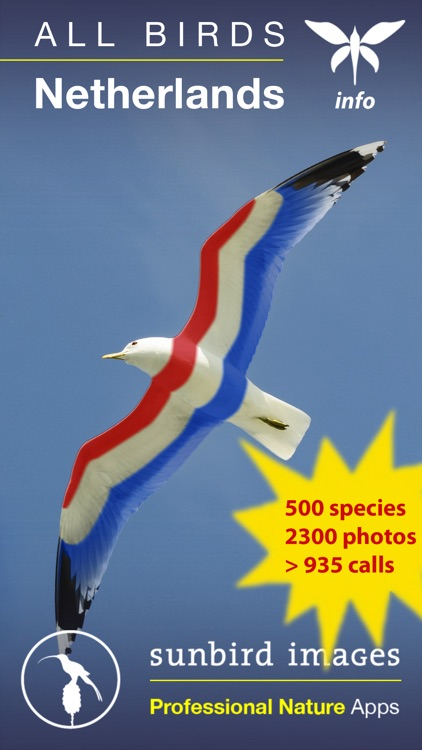 All Birds Netherlands - A Complete Field Guide to the Official List of Bird Species Recorded in the Netherlands