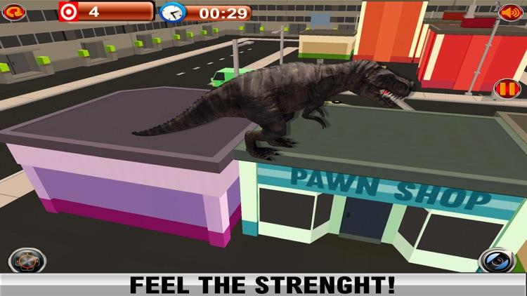 2016 Dinosaur Simulator Park : Dino City Fighting World Survival Game screenshot-4