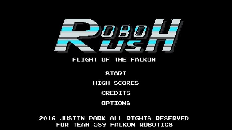 Robo Rush-Flight of the Falkon