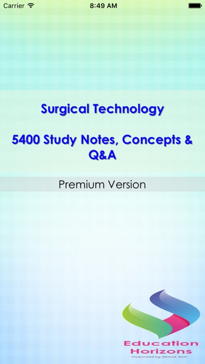 Surgical Technology Study Note 5400 Q&A Exam Review
