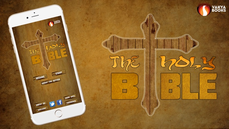 The Holy Bible by King James screenshot-3