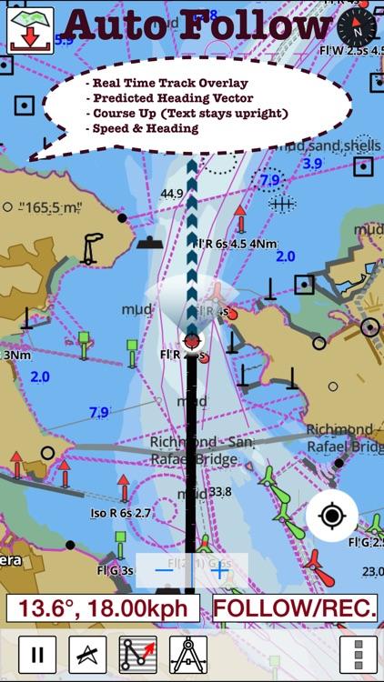 Marine Navigation - Lake Depth Maps - USA - Offline Gps Nautical Charts for Fishing, Sailing and Boating app image