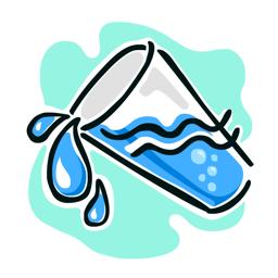 Ícone do app Splashy Rastreador Água - Beber mais água, pista de ingestão diária de água, hidratação Obter lembrete