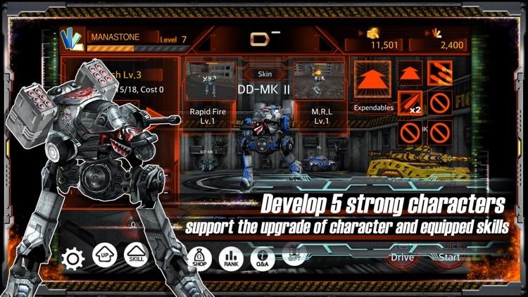 Metal Combat 3D by manastone inc
