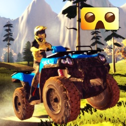 VR Quad Riding Game : Extreme Virtual Reality Games For Google Cardboard