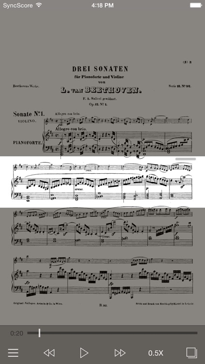 Beethoven - Violin Sonatas screenshot-0