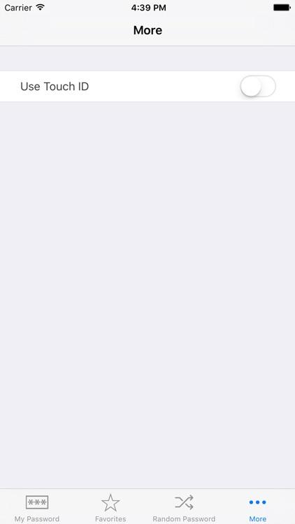 My Password Database screenshot-3