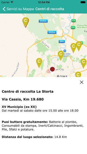 Calendario Raccolte Domenicali Ama.Ama Roma Su App Store