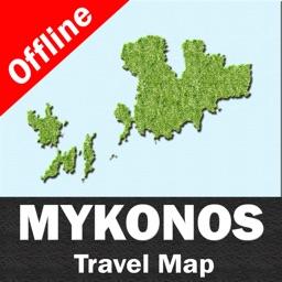 MYKONOS (GREECE) – GPS Travel Map Offline Navigator