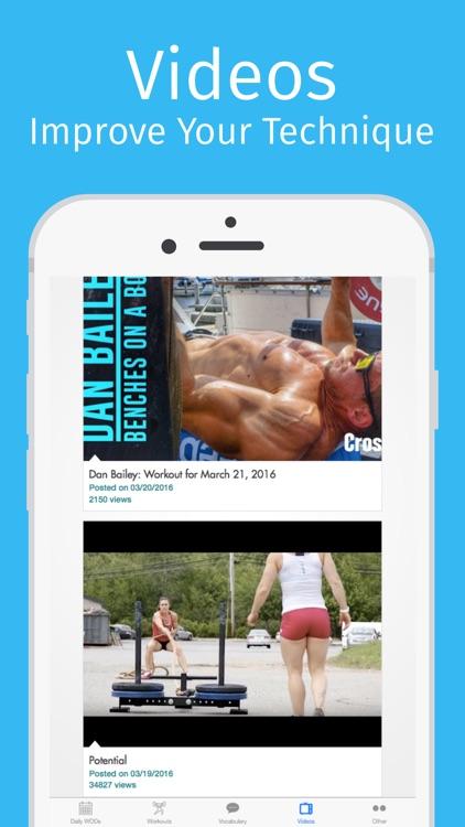 WOD Buddy: Workouts of the Day screenshot-4