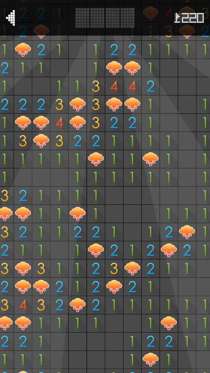Minesweeper. Black screenshot-3