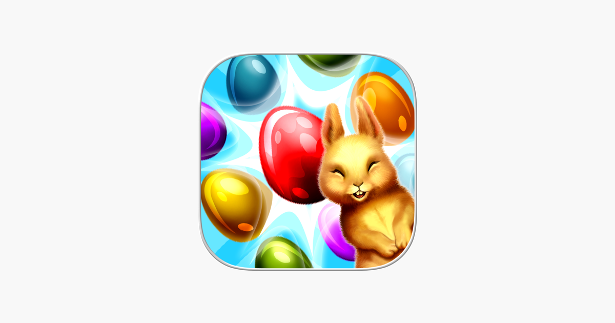Easter Eggs: Fluffy Bunny Swap Puzzle Game on the App Store
