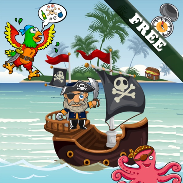 puzzles de pirates pour les bambins et les enfants gratuit dans l app store. Black Bedroom Furniture Sets. Home Design Ideas