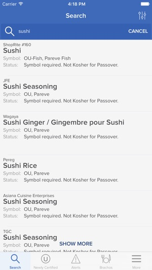 Ou Kosher On The App Store