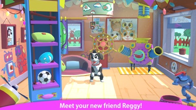 Peppy Pals - Reggy's Play Date Screenshots