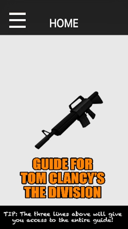Game Guide For Tom Clancy's The Division
