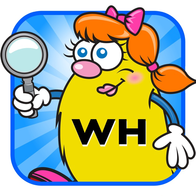 WH Question Cards: Who, What, When, Where, Why on the App ...