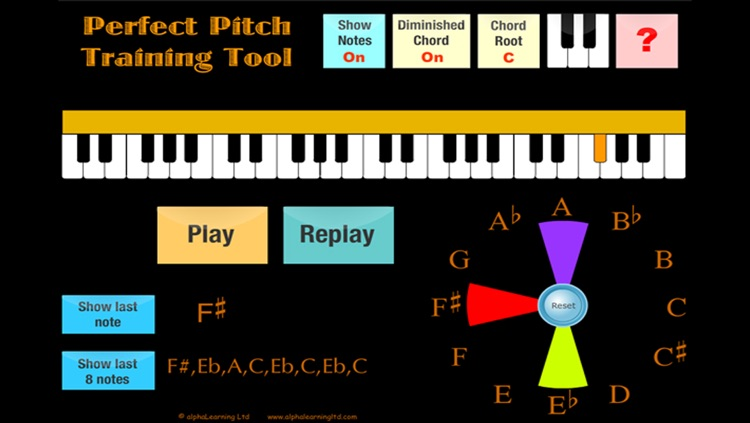 Perfect Pitch Trainer