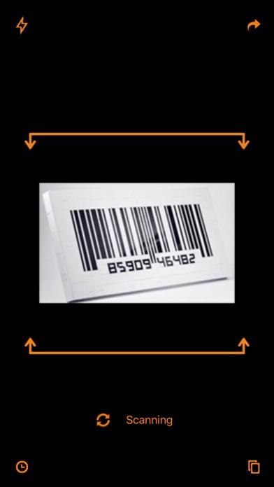 Barcode & QR Code Reader Screenshot on iOS