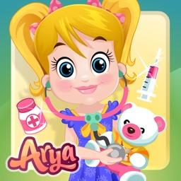 Baby Arya Teddy Doctor