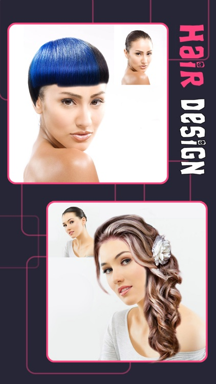 Girly Hair Design - Wig Salon to Change Hairtyle & Color