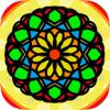 Libro de colorear mandalas para adultos – juego de meditación y relajación