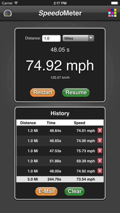 Speedometer App review screenshots