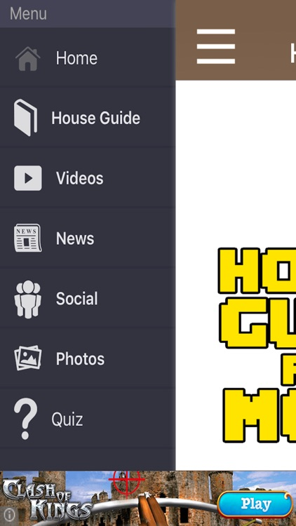 FREE House Guide For Minecraft Pocket Edition