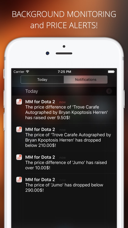 Market Monitor for Dota 2 screenshot-3
