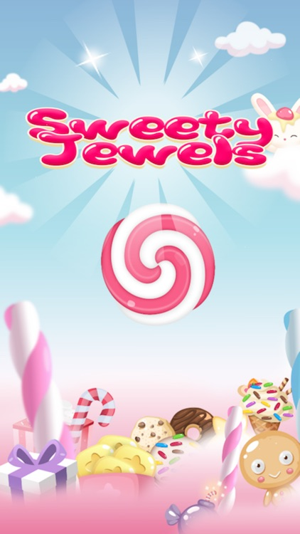 Sweety Jewels - Match 3, Puzzle