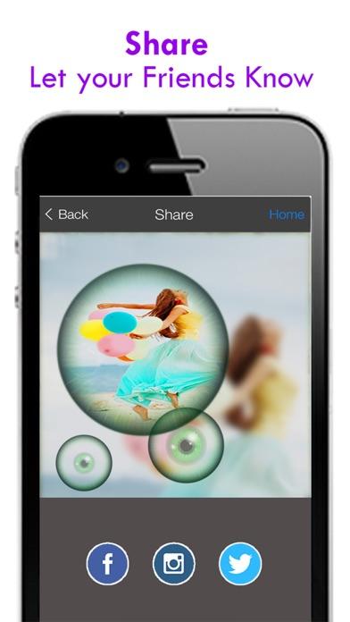 Schönheit der Brute-Kamera - Free Photo Collage Maker mit besonderen wilden Rahmen für InstagramScreenshot von 4