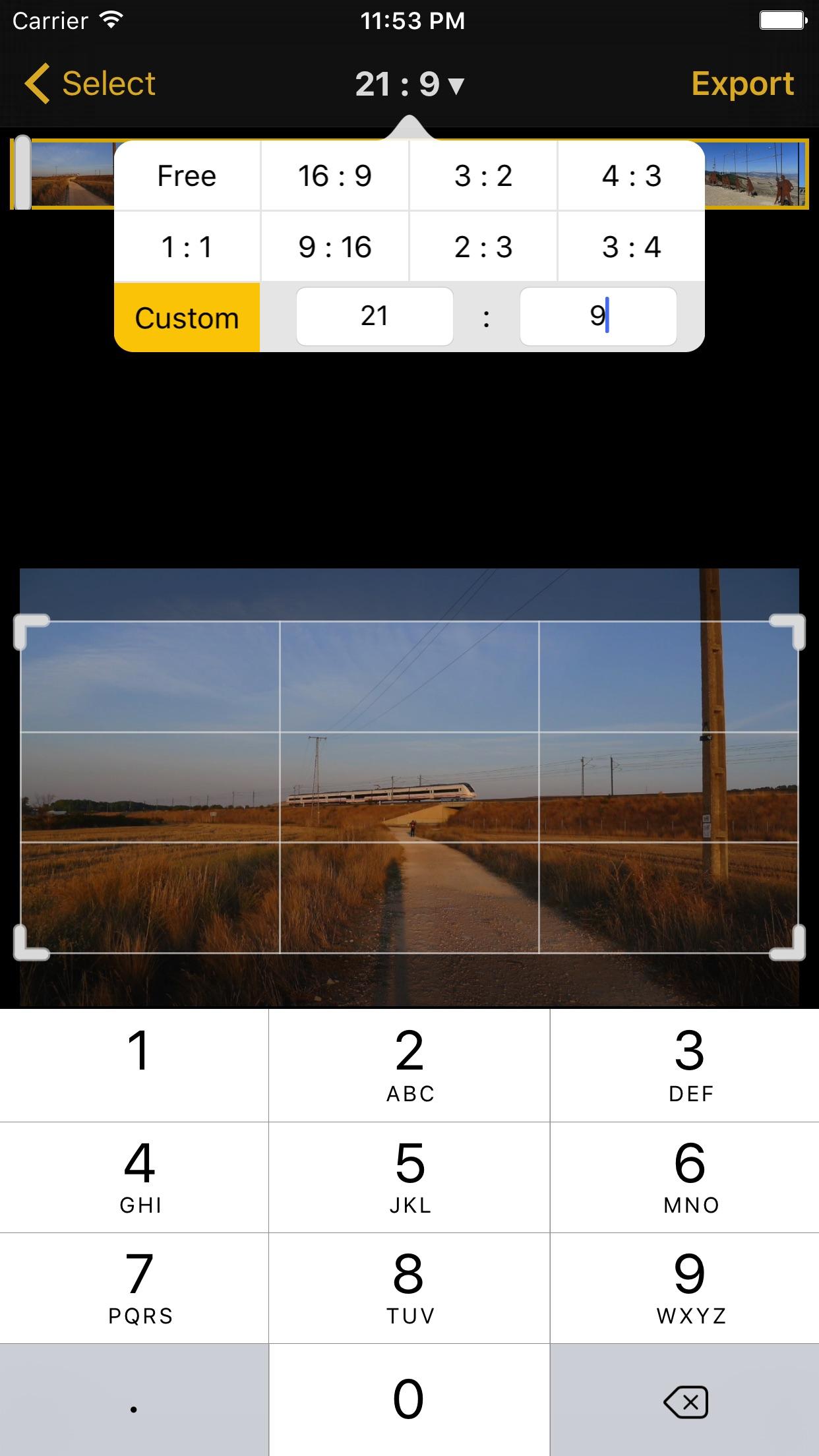 Video Crop -  Remove unwanted areas! Screenshot