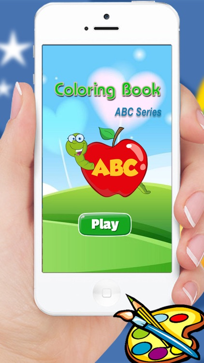 ABC Animals coloring book for kindergarten kids and toddlers